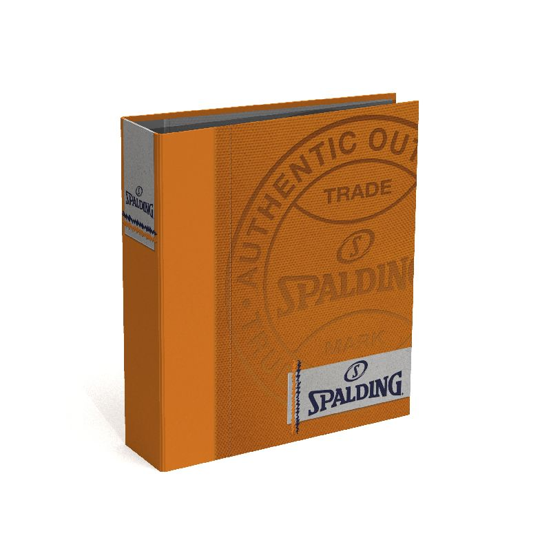 Biblioraft A4,8cm,Spalding,orange