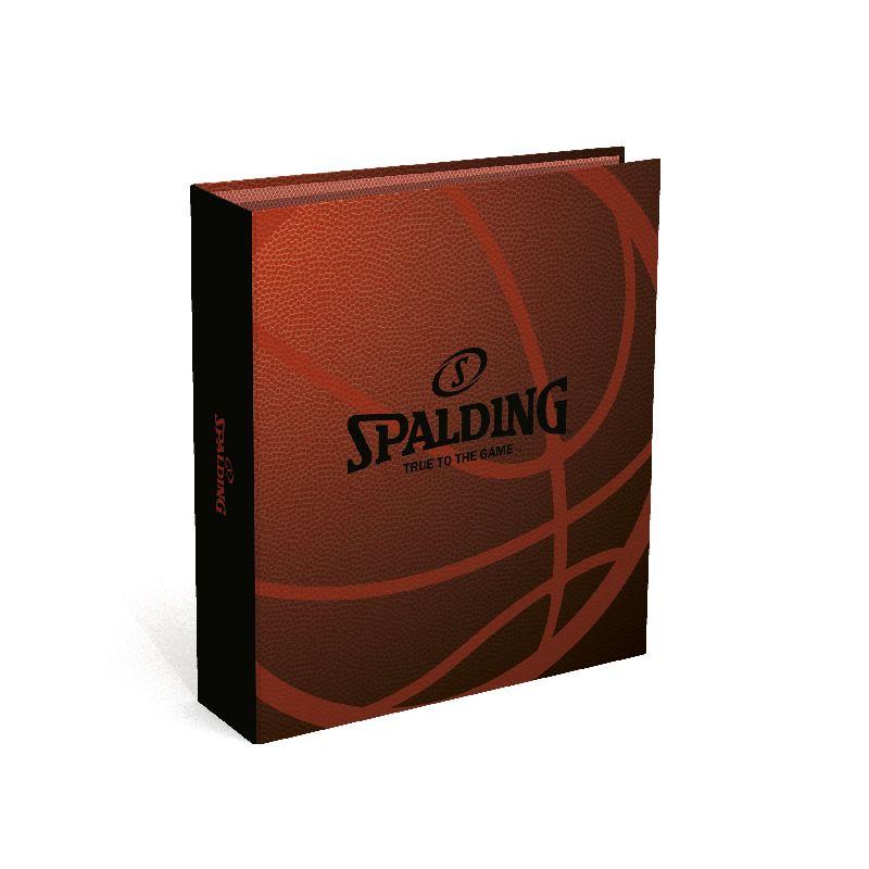Biblioraft A4,8cm,Spalding,maro