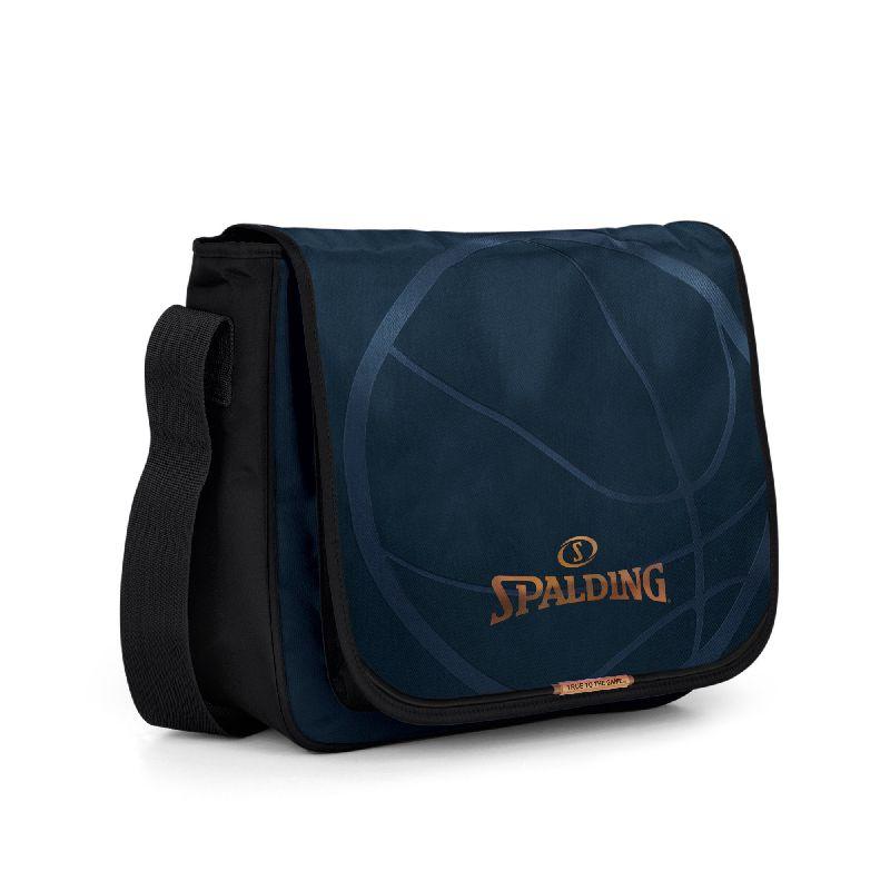 Geanta umar 33x10x42cm,Spalding,albastru