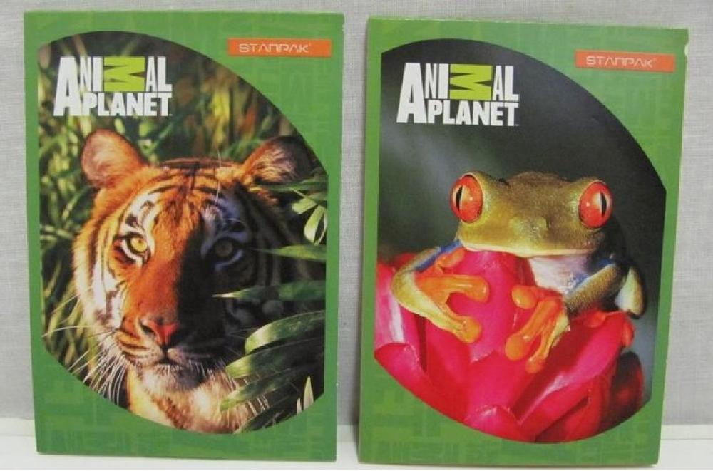 Bloc notes A7,Animal Planet
