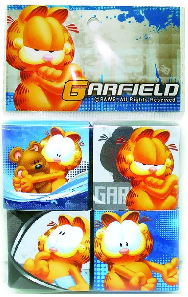 Radiera Garfield,4buc/set