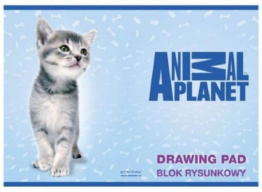 Bloc desen A4,Animal Planet,Cute