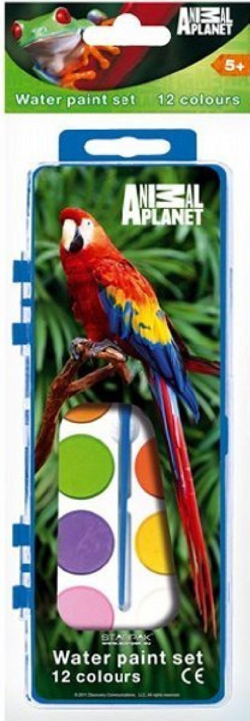 Acuarele  12 culori,Animal Planet