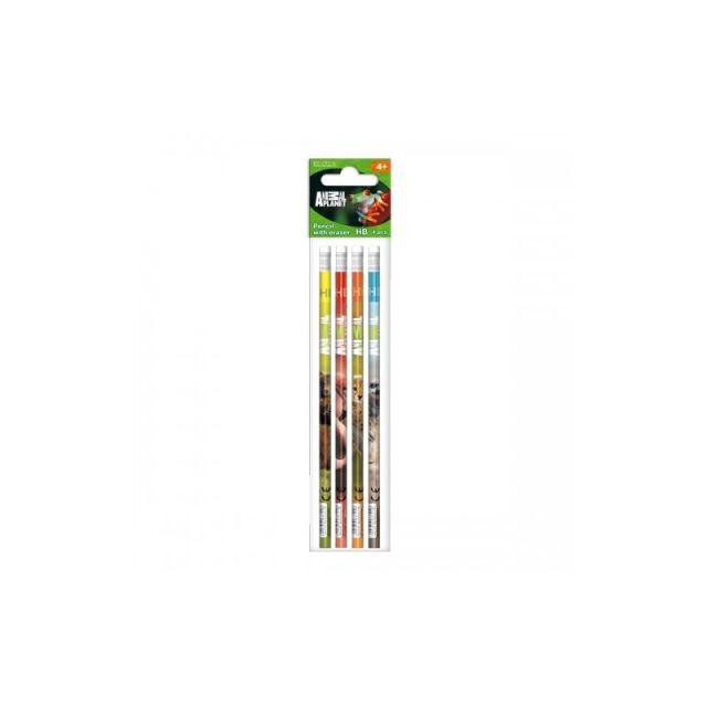 Creioane grafit,4b/s,Animal Planet