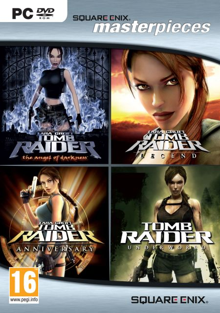 TOMB RAIDER QUADROLOGY PACK - PC