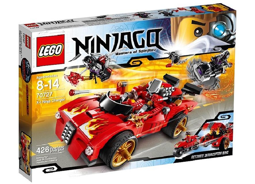 Ninjago Incarcator Ninja X-1