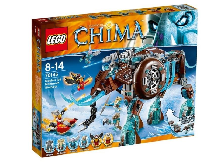 Lego Chima Mamutul de gheata