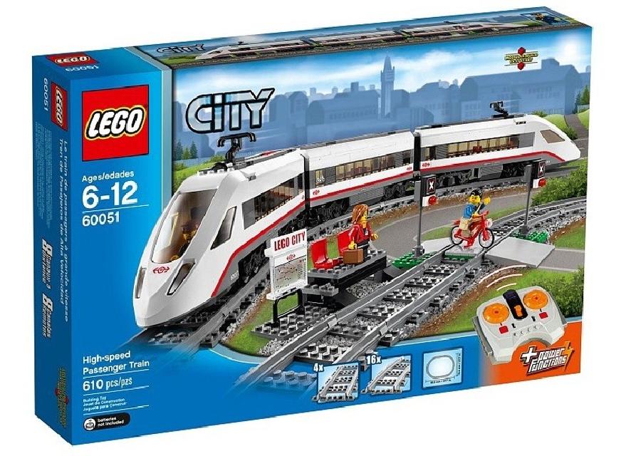 Lego City Tren de pasageri de m