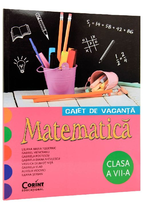 CAIET DE VACANTA CLS A VII-A. LIMBA SI LITERATURA ROMANA CIRSTEA
