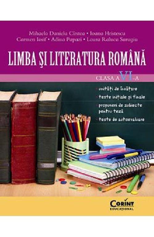LIMBA SI LITERATURA ROMANA CLS A VI-A CIRSTEA