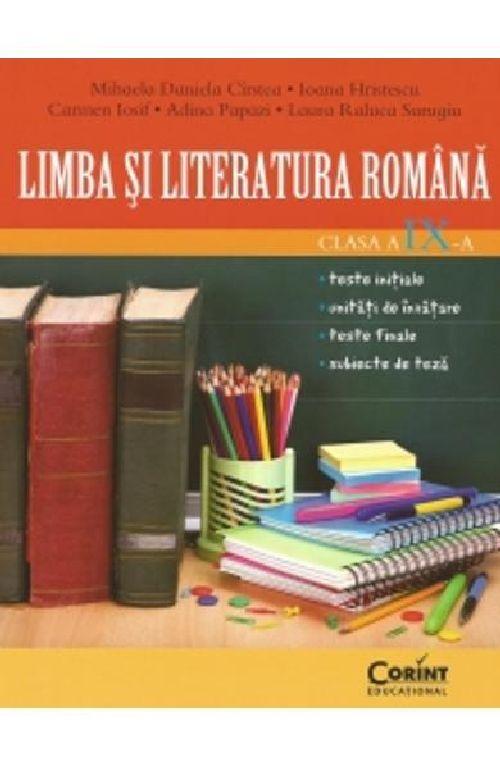 LIMBA SI LITERATURA ROMANA CLS A IX-A CIRSTEA
