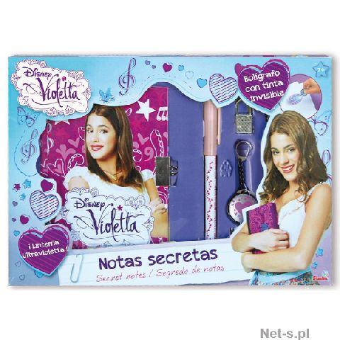Jurnal Violetta magic deluxe