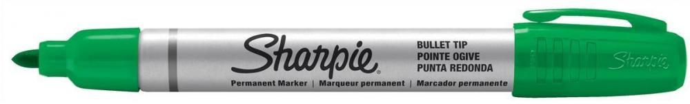 Marker permanent Sharpie Metal,verde