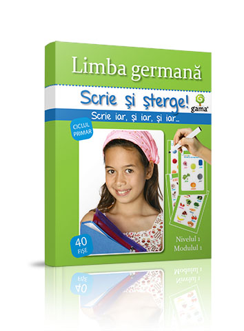 GERMANA NIVEL 1 - SCRIE SI STERGE