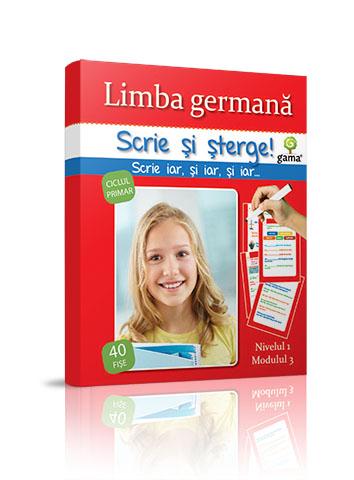GERMANA NIVEL 3 - SCRIE SI STERGE
