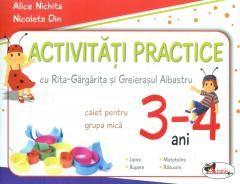 ACTIVITATI PRACTICE GRUPA MICA 3-4 ANI