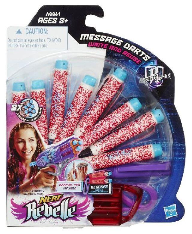 Nerf rebelle secrets spies message darts