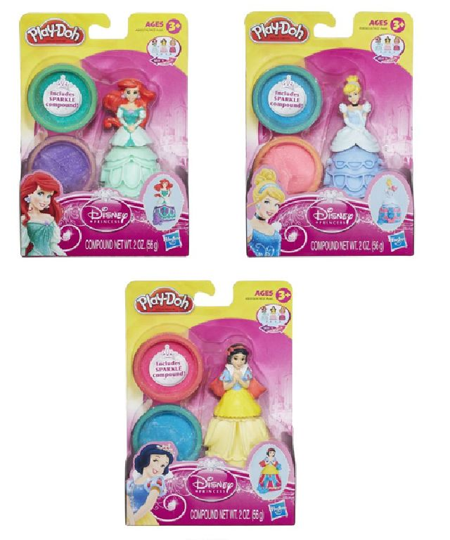 Play Doh Disney princess figure