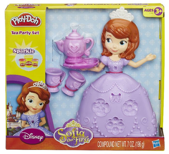 Play Doh Disney sofia the first tea party set