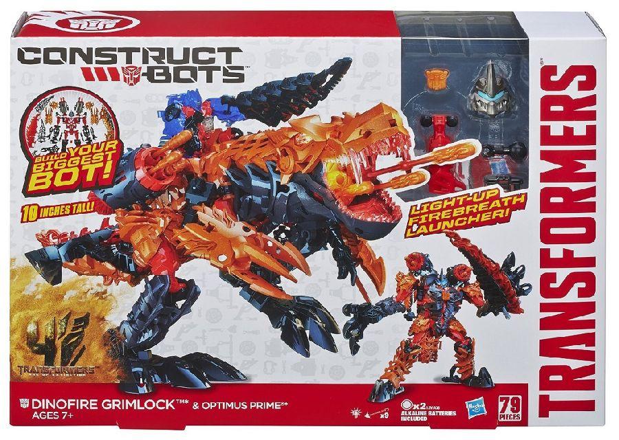 Transformers construct-bots dinofire grimlock