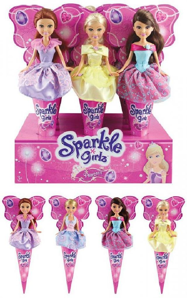Papusa sparkle girlz in con, 250051