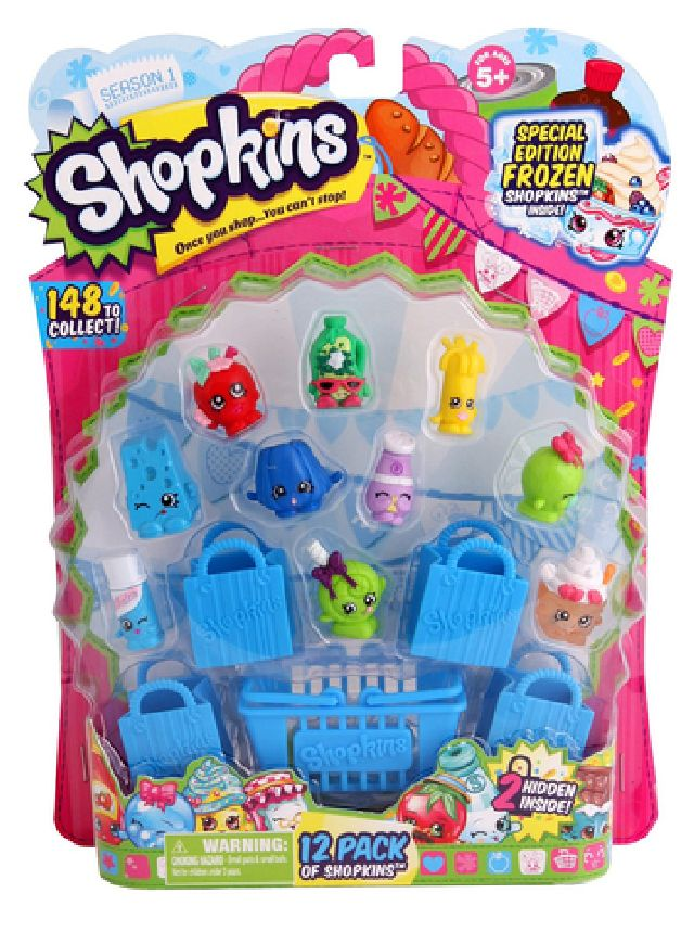 Figurina shopkins 12 buc/blister