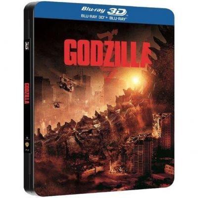 BD: GODZILLA 3D - FUTUREPACK