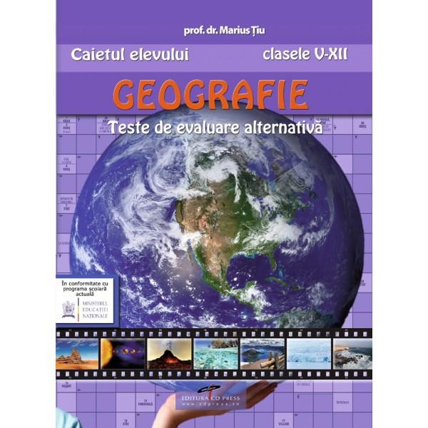GEOGRAFIE TESTE DE EVALUARE ALTERNATIVA