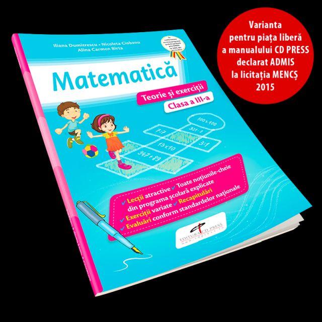 MANUAL MATEMATICA CLASA III