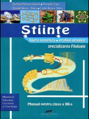 MANUAL STIINTE CLS A XII-A
