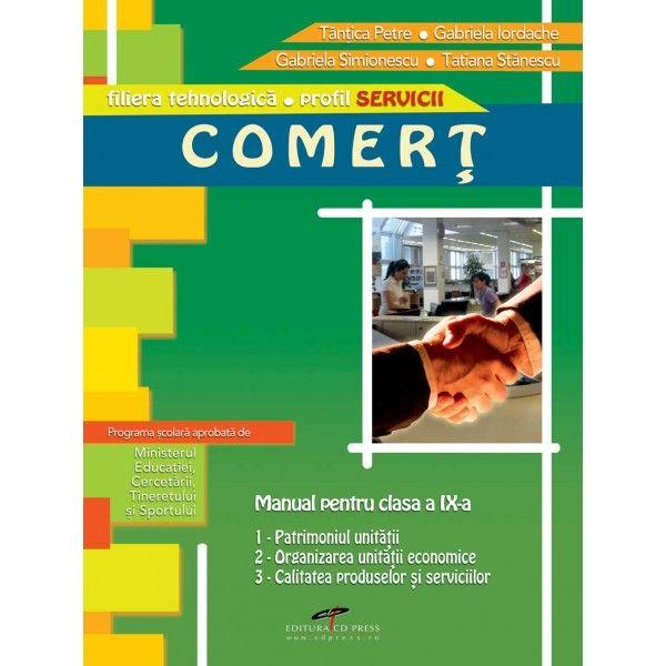 MANUAL COMERT CLASA A IX-A