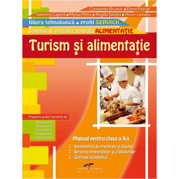 MANUAL TURISM SI ALIMENTATIE CLS A X A