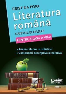 CAIET ELEV CLS A VII-A LITERATURA. ANALIZE SI COMPUNERI POPA