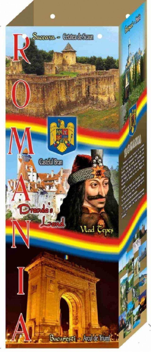 Punga cadou cu Romania 12X34X9cm