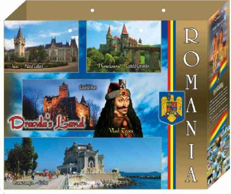 Punga cadou Romania 30x25x10 cm