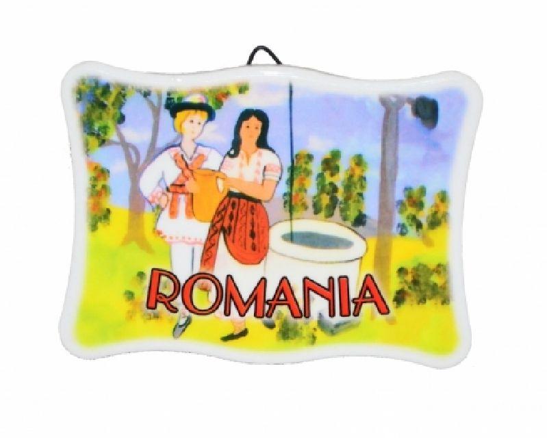 Plachet  Romania 8x11 cm