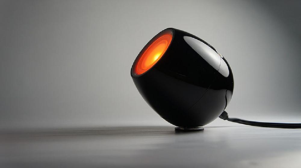 Lampa cu lumini USB -Negru