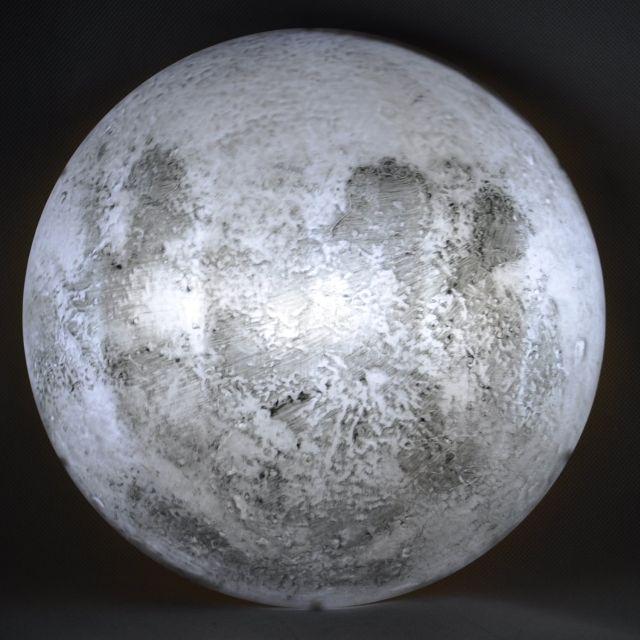 Lampa perete luna cu telecomanda