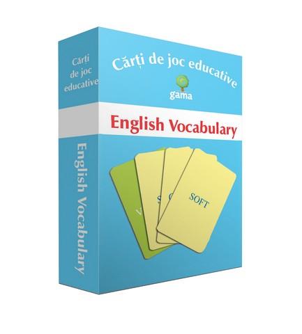 ENGLISH VOCABULARY / CARTI DE JOC EDUCATIVE