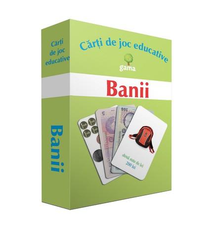 BANII / CARTI DE JOC EDUCATIVE