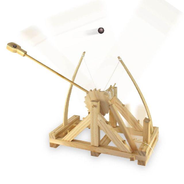 Da Vinci Catapulta -de construit
