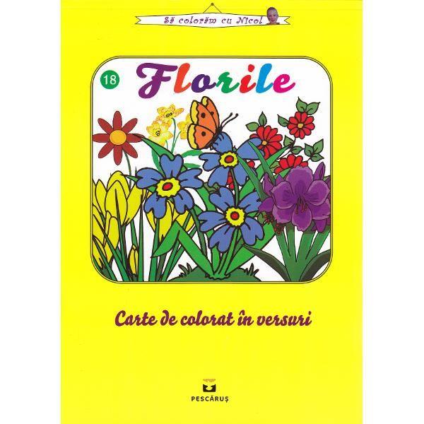 FLORILE. CARTE DE COLORAT IN VERSURI