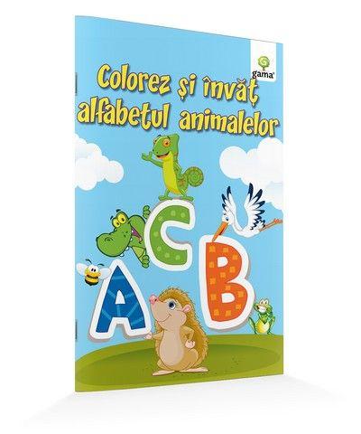 COLOREZ SI INVAT ALFABETUL ANIMALELOR/ A5.14