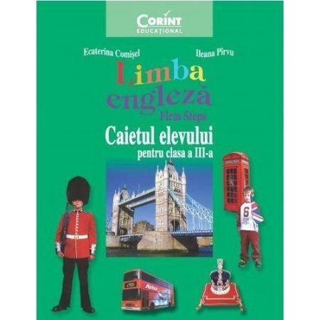 CAIET ELEV CLS. A III-A LIMBA ENGLEZA 2014