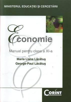 MANUAL CLS. A XI-A ECONOMIE - LACATUS 2014