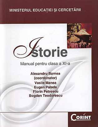 MANUAL CLS. A XI-A ISTORIE - BARNEA 2014