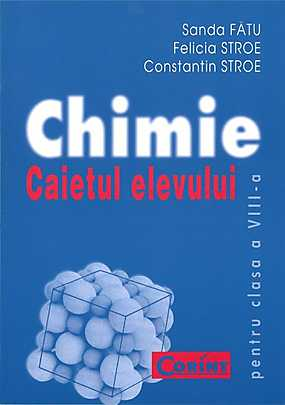 CAIET ELEV CLS. A VII-A CHIMIE...