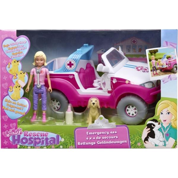 Ambulanta cu figurine,Rescue Hospital