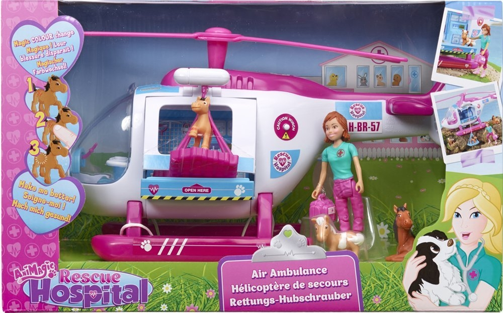 Elicopter cu figurine,Rescue Hospital