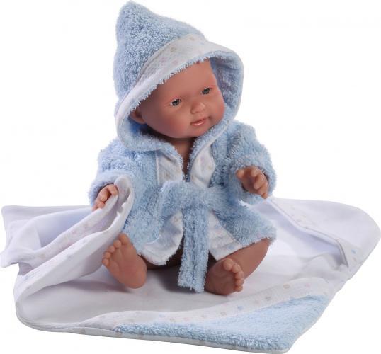 Papusa bebe Llorens Albornoz,Bleu,26 cm